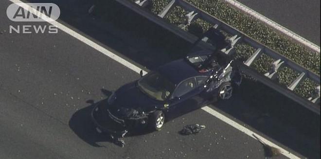 Chiếc Ferrari 360 Modena bị hỏng nặng sau vụ tai nạn