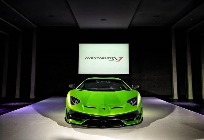 Sau Malaysia, Thái Lan là nước tiếp theo tại thị trường Đông Nam Á ra mắt Lamborghini Aventador SVJ chỉ có đúng 963 chiếc được sản xuất trên toàn thế giới