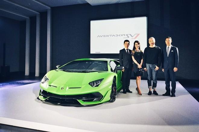 Siêu phẩm Lamborghini Aventador SVJ tiếp tục ra mắt thị trường Đông Nam Á