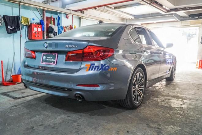Đây chính là chiếc BMW 5-Series thế hệ thứ 7 đầu tiên xuất hiện tại Việt Nam