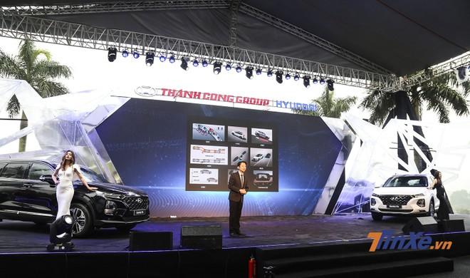 Hyundai Santa Fe 2019 được ra mắt vào ngày 9/1/2019 vừa qua tại Ninh Bình