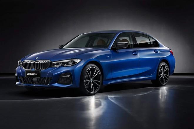 BMW vén màn 3-Series Li 2019 dành cho thị trường Trung Quốc