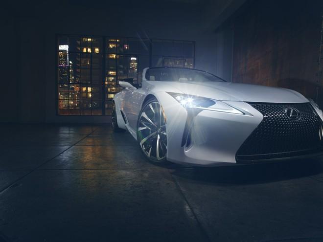 Lexus LC Convertible sẽ ra mắt trong triển lãm Ô tô Detroit 2019