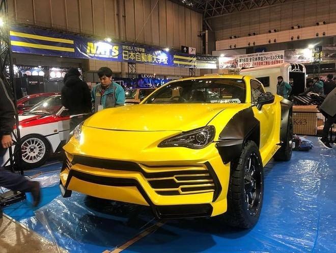Lamborghini Urus bán tải được trưng bày trong triển lãm Tokyo Auto Salon 2019