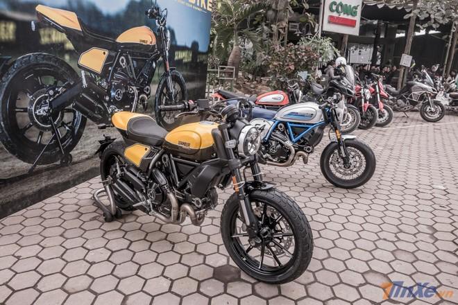3 chiếc Ducati Scrambler phiên bản 2019 cập bến Hà Nội được Ducati Hà Nội mang ra buổi gặp mặt trưng bày