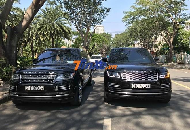 Cặp SUV hạng sang Range Rover của Minh Nhựa