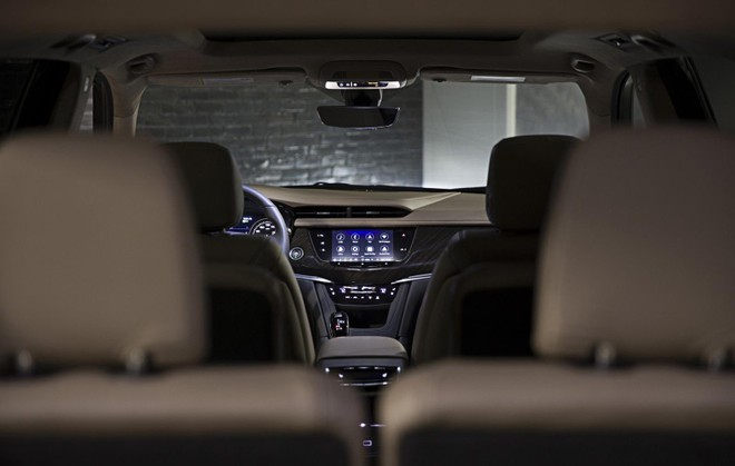 Nội thất bên trong Cadillac XT6 2020