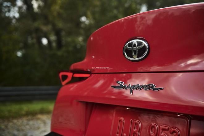Chữ Supra cách điệu trên đuôi xe