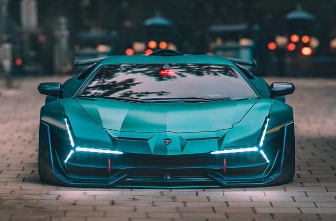 Lamborghini Aventador SVJ Proxima của nhà thiết kế Khyzyl Saleem được ra đời trên máy tính