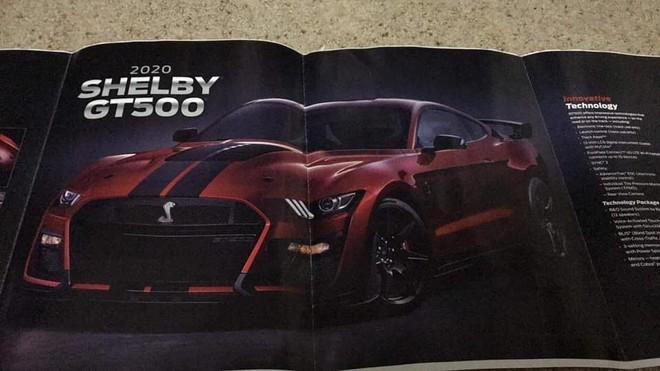 Hình ảnh Ford Mustang Shelby GT500 2020