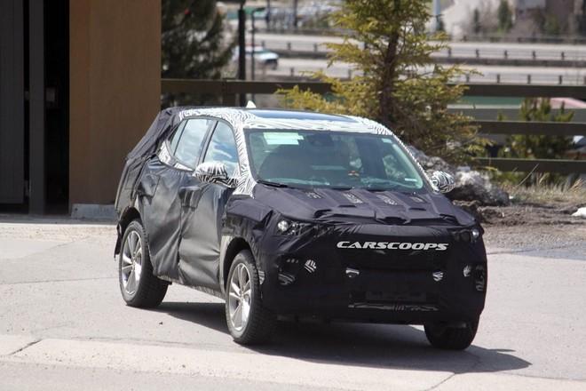 Bản thử nghiệm Chevrolet Trax được chụp lại trong năm 2018