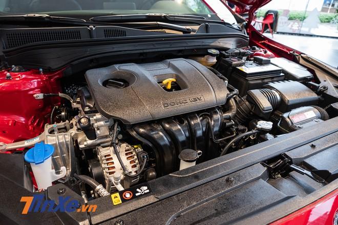 Kia Cerato 2019 vẫn sử dụng khối động cơ cũ