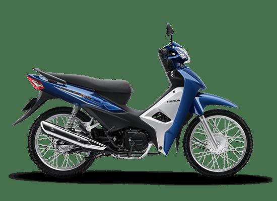 Honda Wave Alpha màu xanh đậm