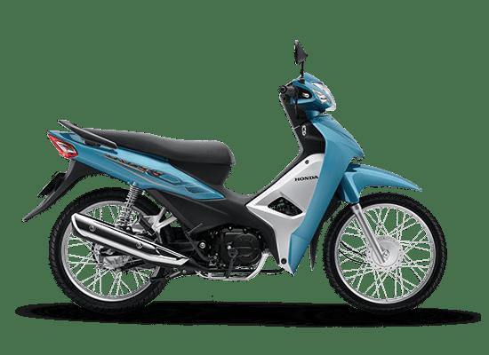 Honda Wave Alpha màu xanh