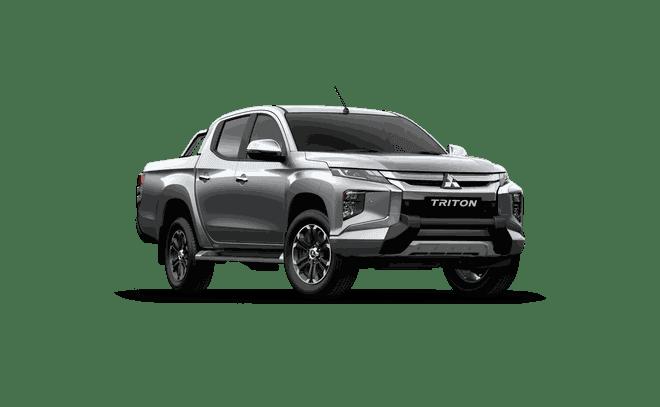 Mitsubishi Triton 2019 màu bạc