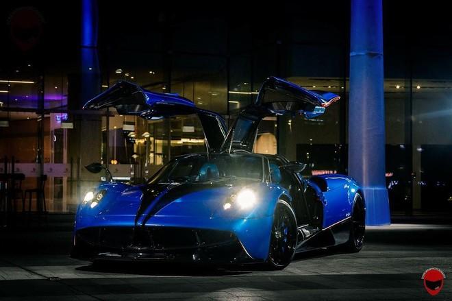Chiếc Pagani Huayra Coupe của đại gia Singapore có thêm gói độ chính hãng Pacchetto Tempesta