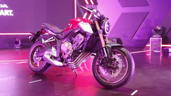 Honda CB650R 2019 ra mắt tại Indonesia
