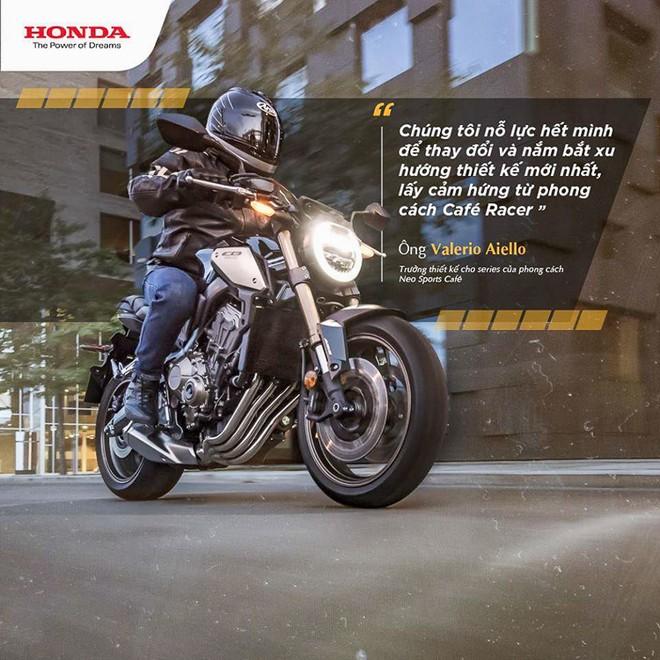 Hình ảnh Honda CB650R 2019 do Honda Việt Nam đăng tải