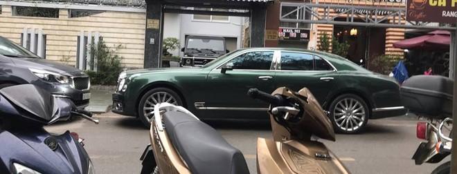 Chiếc xe siêu sang Bentley Mulsanne thế hệ mới của doanh nhân Phú Thọ