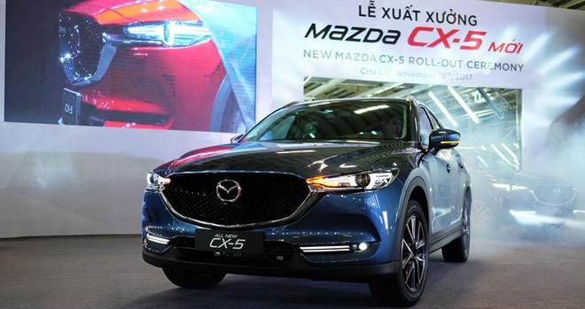 """Mazda CX-5 hiện đang là tên tuổi đứng đầu phân khúc crossover cỡ C ở Việt Nam với doanh số trong năm 2018 đạt 12.243 xe, đánh bật hàng """"hot"""" Honda CR-V"""