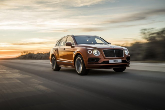 Bentley Bentayga Speed 2019 có thể tăng tốc từ 0-100 km/h trong 3,9 giây