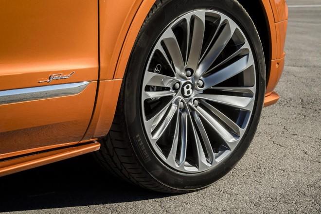 Bộ vành 22 inch của Bentley Bentayga Speed 2019