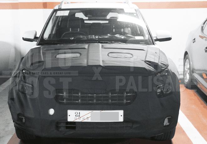 Hyundai Leonis dự kiến cũng được trang bị đèn pha nằm dưới đèn định vị ban ngày như Kona