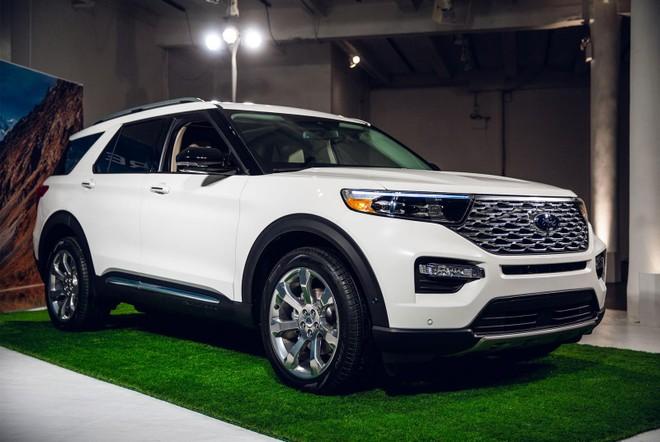 Ford Explorer 2020 Suv Cỡ Lớn Sẽ Về Việt Nam Trong Tương Lai Co Gia Ban Hấp Dẫn