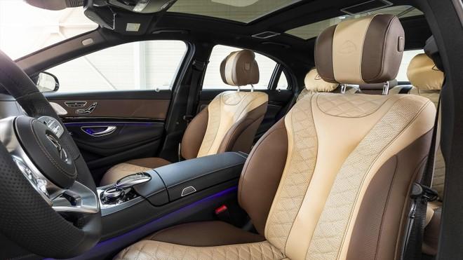 Nội thất sang trọng bên trong chiếc Mercedes-Benz S-Class