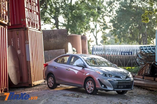Sang tháng 1/2019 Toyota Vios chỉ bán được 1.991 xe