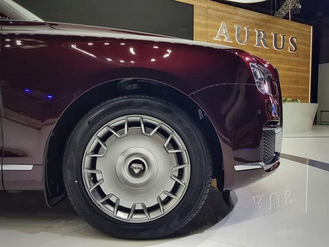 Bộ vành hợp kim của Aurus Senat