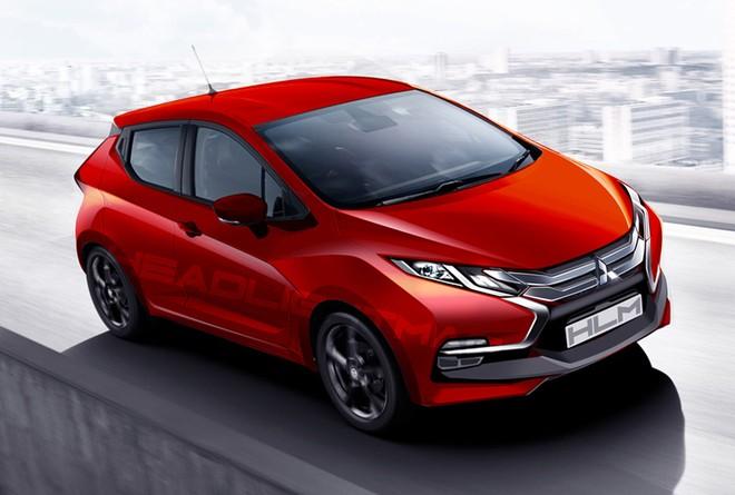 Mirage thế hệ mới sẽ được áp dụng ngôn ngữ thiết kế Dynamic Shield của Mitsubishi