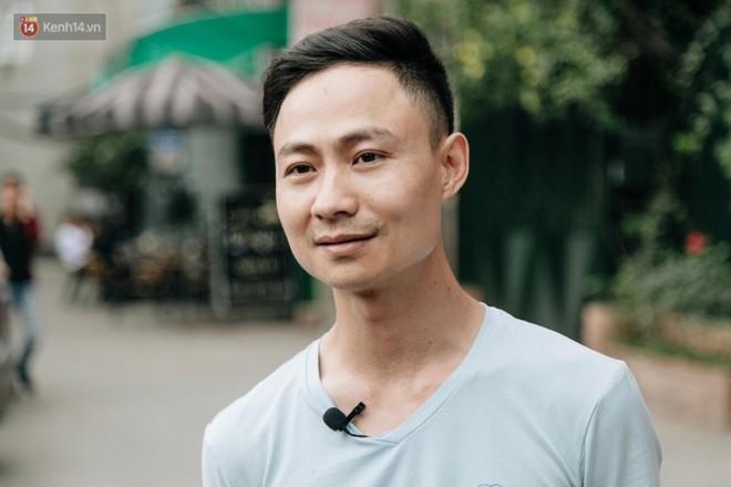 Anh Nguyễn Khắc Thành - người trực tiếp thiết kế vách ngăn