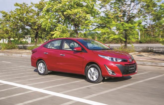 Doanh số giảm nhưng Vios vẫn là mẫu xe bán chạy nhất của Toyota Việt Nam