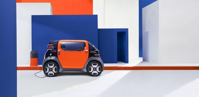 Citroen Ami One mang vai trò thể hiện tầm nhìn giải pháp di chuyển tương lai của nhà sản xuất