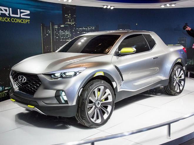 Hyundai Santa Cruz phiên bản concept