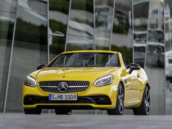 Mercedes-Benz SLC Final Edition là phiên bản đặc biệt cuối cùng trước khi dòng SLC bị ngừng sản xuất