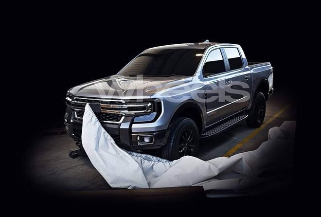 Thiết kế đầu xe của Ford Ranger thế hệ mới