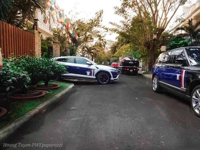 Lamborghini Urus cùng Pagani Huayra và Range Rover phiên bản cũ của Minh Nhựa