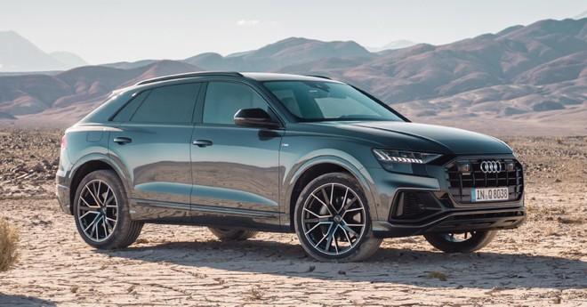 Audi Q8 2019 sẽ có hai tùy chọn động cơ xăng và động cơ diesel