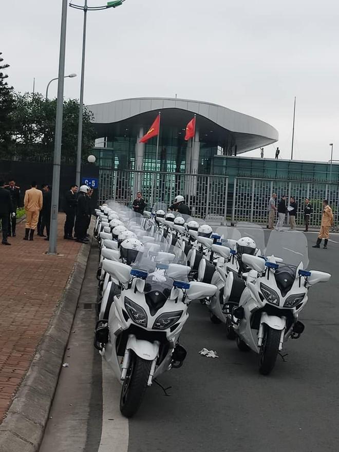 Những chiếc Yamaha FJR1300P sẽ tiếp tục được sử dụng để hộ tống trong sự kiện lớn này
