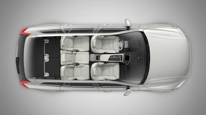 Cấu hình 5 chỗ của Volvo XC90 2020