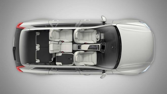 Cấu hình 4 chỗ của Volvo XC90 2020