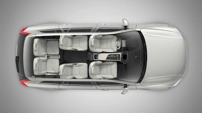 Cấu hình 6 chỗ của Volvo XC90 2020