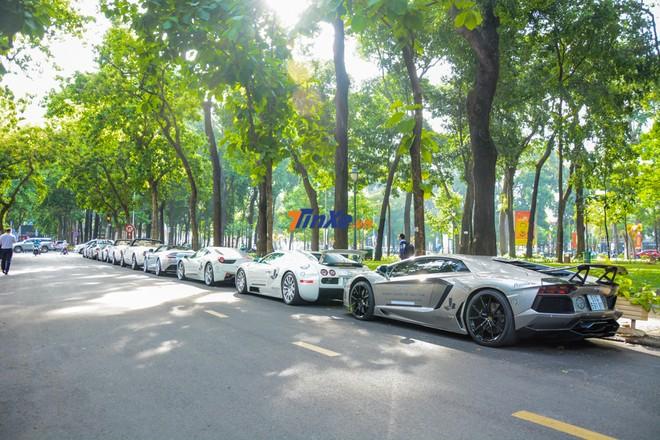 Dàn siêu xe của ông Đặng Lê Nguyên Vũ trong hành trình siêu xe xuyên Việt vào năm ngoái