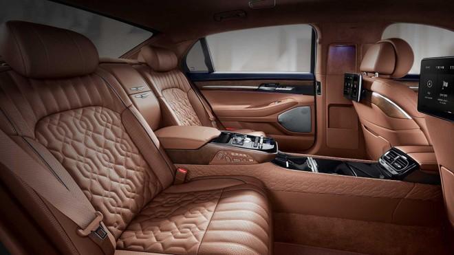 Đảm bảo hành khách bên trongGenesis G90 Limousine sẽ có trải nghiệm tốt nhất