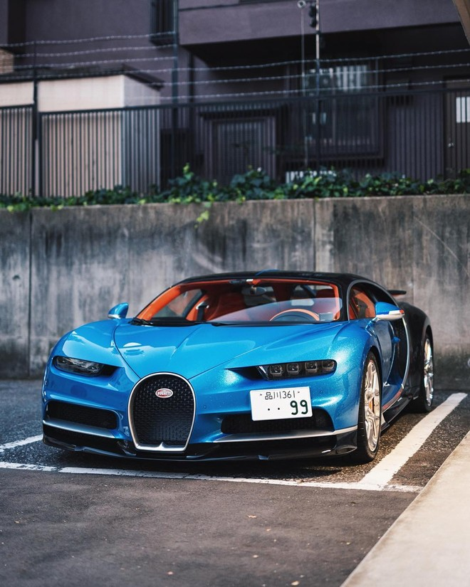 Chiếc Bugatti Chiron sở hữu màu sơn ngoại thất không có trên bất kỳ xe nào