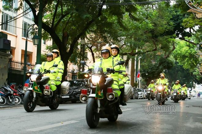 Hơn 1.000 cán bộ chiến sĩ ra quân bảo vệ an ninh an toàn hội nghị thượng đỉnh Mỹ - Triều diễn ra tại Hà Nội