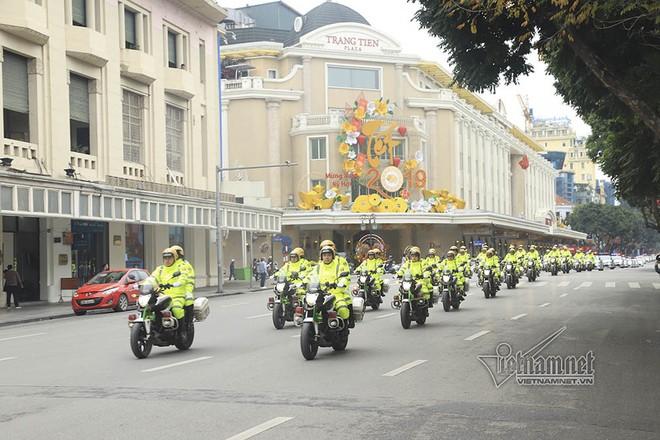Phòng CSGT huy động 100% quân số và hàng trăm xe cho nhiệm vụ lần này
