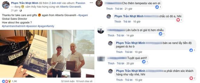 Chia sẻ của Minh Nhựa và những bình luận từ các người bạn trên mạng xã hội